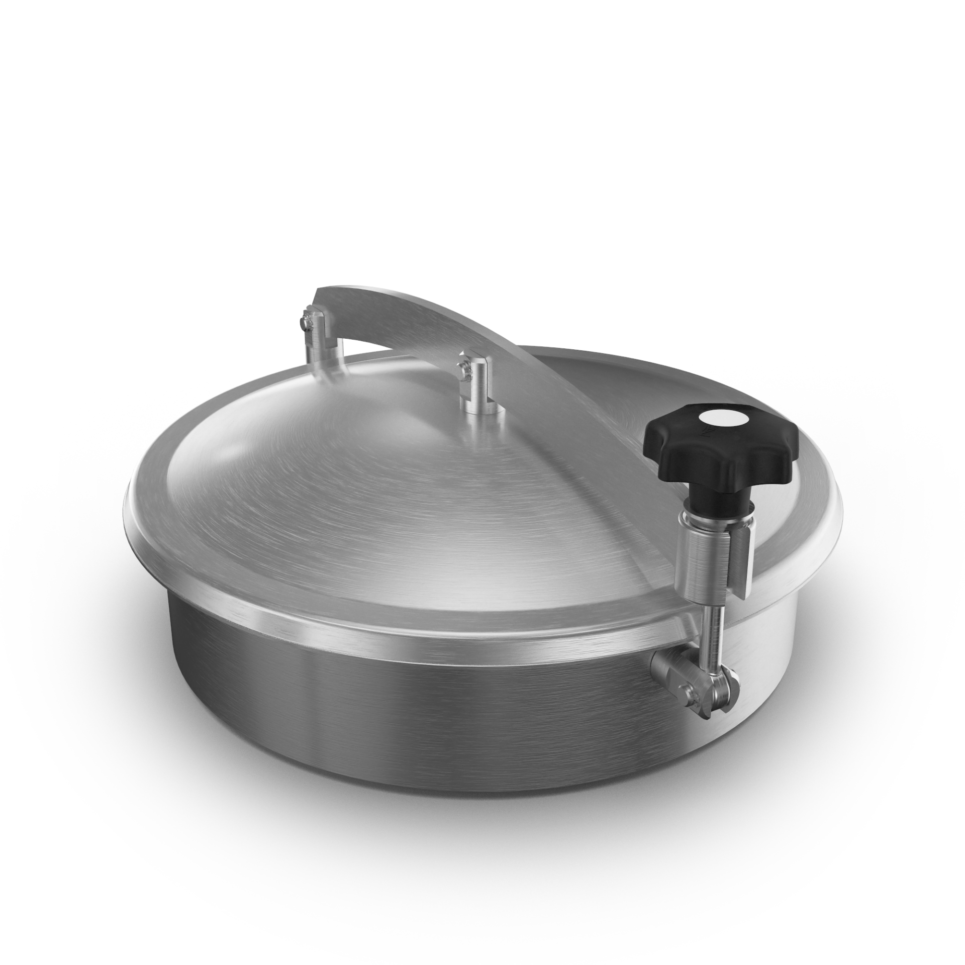 Pressureless Dome-Cover with crossarm and profile-gasket