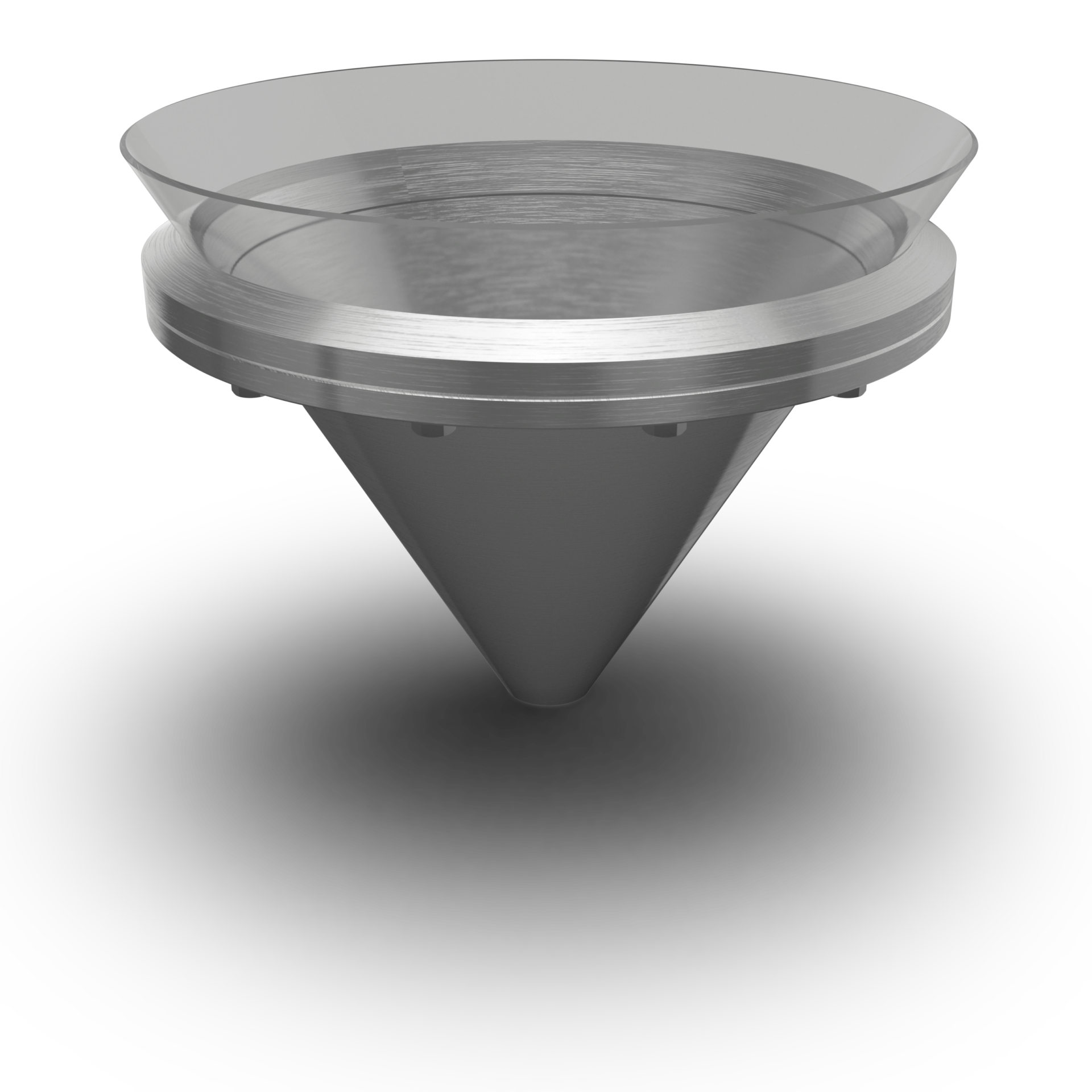 Pressure Cone-Cover (completely conical) up to 6/-1 bar