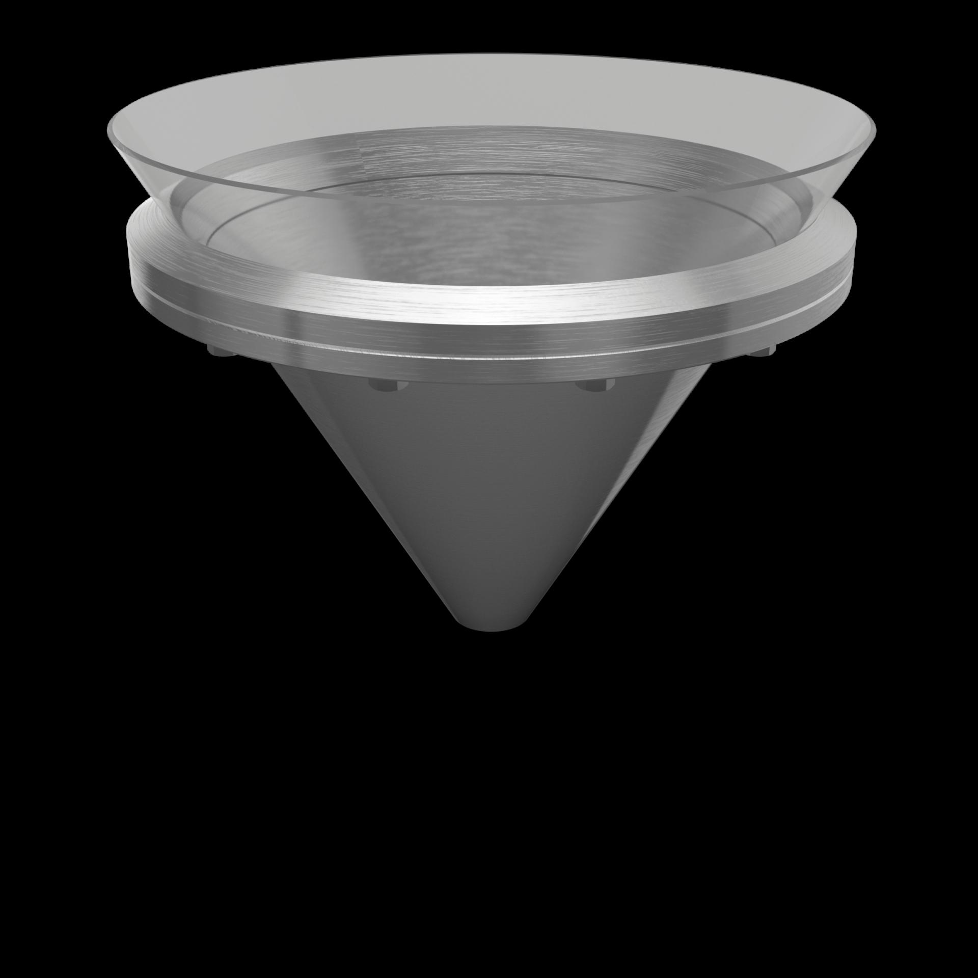 Druck-Konusverschluss (komplett konisch) bis 6/-1 bar